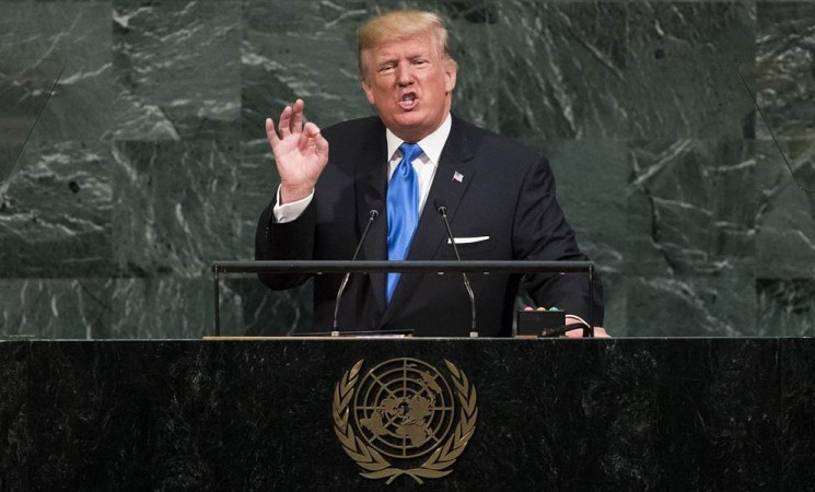 A blunt, fearful rant: Trump's UN speech left presidential norms in the dust